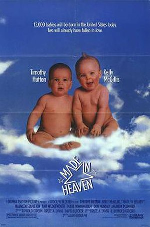 Made in Heaven (1987 film) - Image: Made in heaven poster