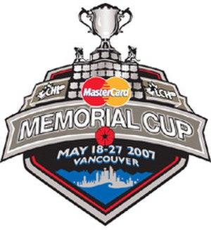 2007 Memorial Cup - Image: Memcup 2007