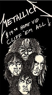 <i>Cliff Em All</i> 1987 video by Metallica
