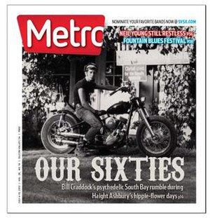 Metro Silicon Valley - Image: Metro Silicon Valley issue of July 11, 2012