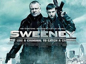 The Sweeney (2012 film) - UK theatrical release poster