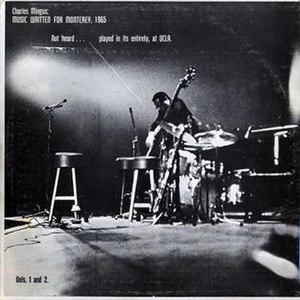 Music Written for Monterey 1965 - Image: Music Wrtitten for Monterey, 1965