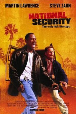 National Security (2003 film) - Theatrical release poster