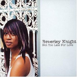 Not Too Late for Love - Image: Not Too Late For Love CD2cover