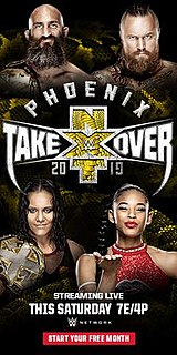 NXT TakeOver: Phoenix 2019 WWE Network event