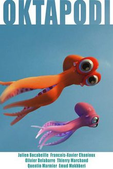 Octopus love films d'animation amour