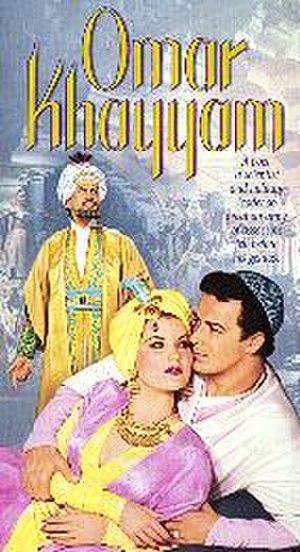 Omar Khayyam (film) - VHS slipcase cover