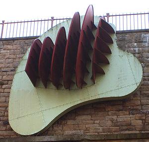 Richard Deacon (sculptor) - Richard Deacon. Once Upon a Time on the Redheugh Bridge, Gateshead
