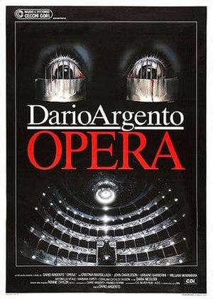 Opera (film) - Theatrical release poster by Renato Casaro