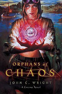 <i>Orphans of Chaos</i> book by John C. Wright