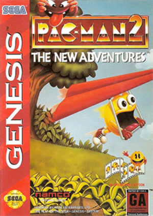 Pac-Man 2: The New Adventures - Image: Pac Man 2 The New Adventures Coverart