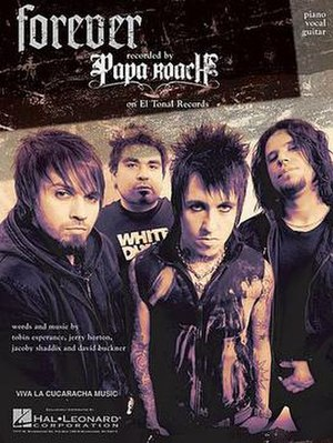 Forever (Papa Roach song) - Image: Paparoachforever