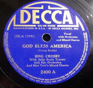 <i>Patriotic Songs for Children</i> 1939 compilation album by , Bing Crosby, Frank Luther