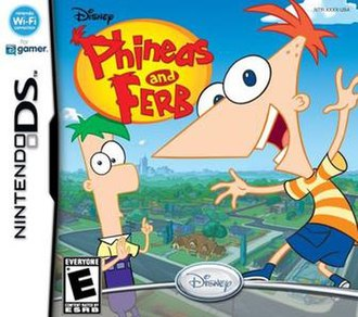 Phineas and Ferb (video game) - North American box art.
