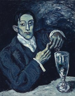 <i>Portrait of Angel Fernández de Soto</i> portrait by Pablo Picasso