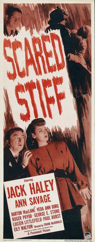 Scared Stiff (1945 film) - Theatrical film poster