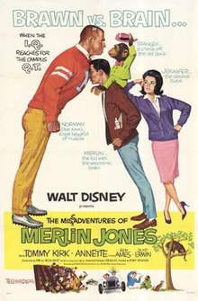Poster of the movie The Misadventures of Merlin Jones.jpg