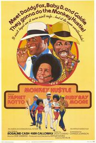 The Monkey Hustle - Original theatrical poster