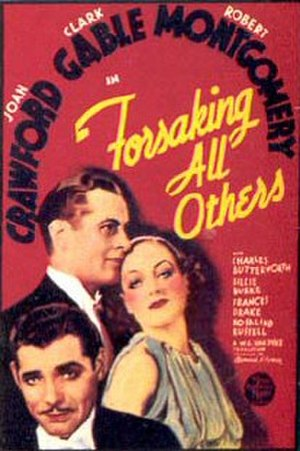 Forsaking All Others - Theatrical release poster