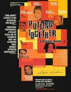 <i>Putting It Together</i> 2001 musical