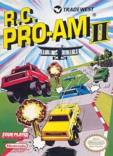 <i>R.C. Pro-Am II</i> 1992 racing video game