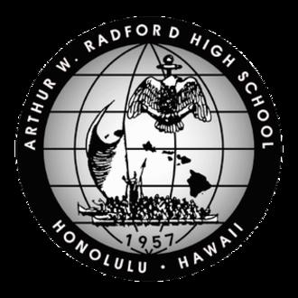 Admiral Arthur W. Radford High School - Image: Radford HS Hawaii