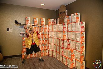 Anime Midwest - Image: Ramen Box Wall at Anime Midwest 2014