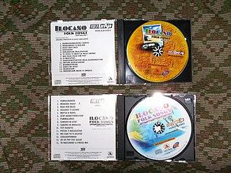 Philippine folk music - Video compact discs of some popular Ilocano folk songs.