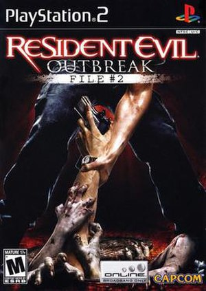 Resident Evil Outbreak: File 2 - North American cover art