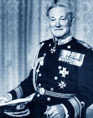 Richard Trowbridge - Rear Admiral Sir Richard Trowbridge