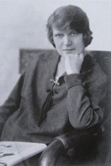 Richmal Crompton Lamburn, pictured on the cover of her biography