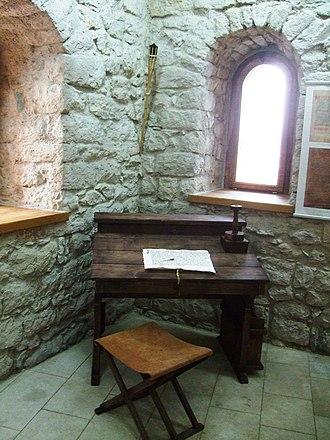 Tešanj - A room inside the Tešanj Castle.