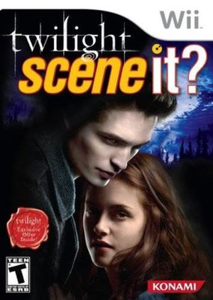 Scene It? Twilight - Image: Scene It Twilight Coverart