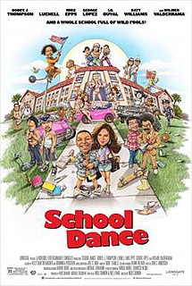 <i>School Dance</i> (film) 2014 film by Nick Cannon