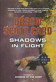 <i>Shadows in Flight</i> 2012 Book by Orson Scott Card