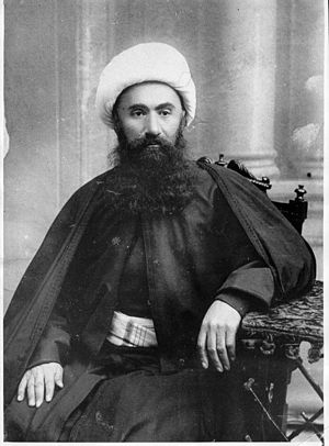 Mahammad Hasan Movlazadeh Shakavi was an alim and the first Sheikh ul-Islam of the Caucasus and the first scholar who translated Koran into Azerbaijani language. - List of Azerbaijanis