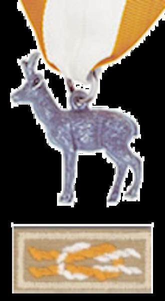 Lewis Blaine Hershey - Image: Silver Antelope Award