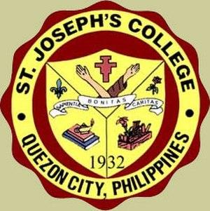 Saint Joseph's College of Quezon City - Image: Sjc seal