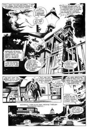 Bob Smith (comics) - Image: Smithcolannightforce 8
