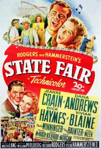 State Fair (1945 film) - Theatrical release poster