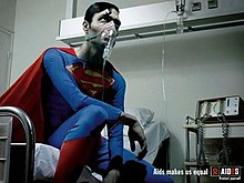 A thin Superman with