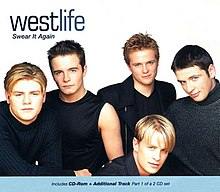 Westlife — Swear It Again (studio acapella)