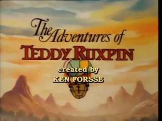 The Adventures of Teddy Ruxpin - Title screen