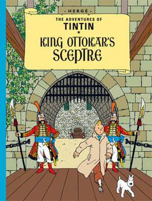 King Ottokar's Sceptre - Cover of the English edition