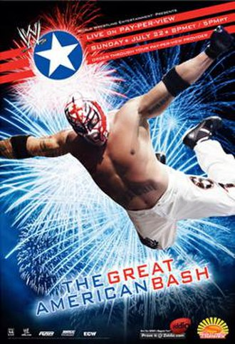 The Great American Bash (2007) - Promotional poster featuring Rey Mysterio