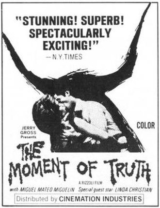 The Moment of Truth (film) - Film poster