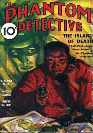 The Phantom Detective - Third issue of Phantom Detective. June 1933.