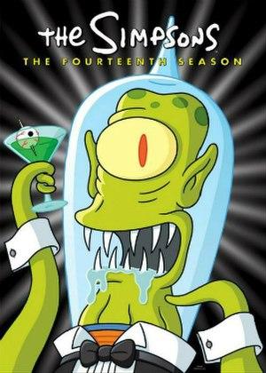 The Simpsons (season 14) - DVD cover