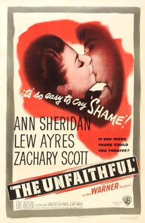 The Unfaithful - Theatrical release poster