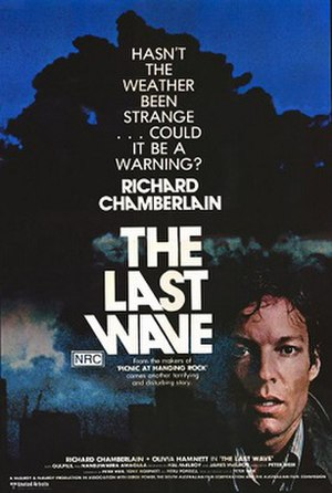 The Last Wave - Theatrical poster